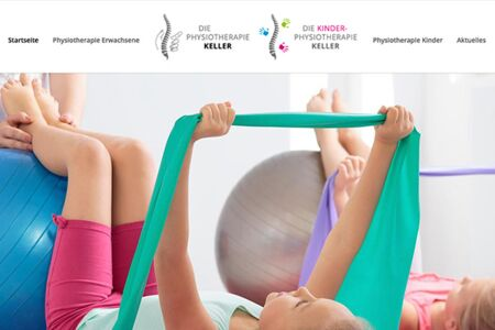 Website Relaunch Physiotherapie Wuppertal